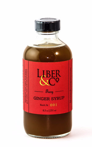 Liber & Co. Fiery Ginger Syrup