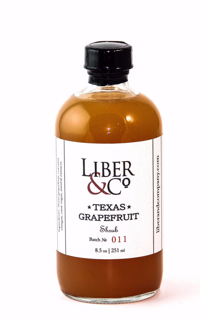 Liber & Co. Texas Grapefruit Shrub