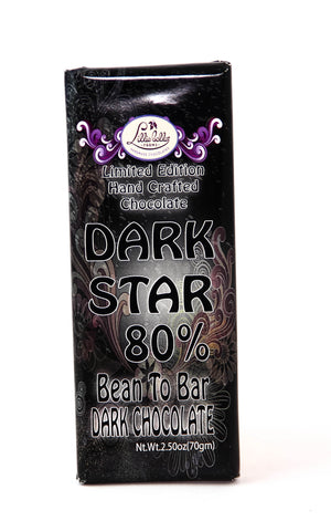 "Lillie Belle ""Dark Star"" 80% Dark Chocolate-Chocolate-The Meadow"