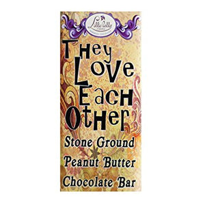 "Lillie Belle ""They Love Each Other"" Stone Ground Peanut Butter Dark Chocolate-Chocolate-The Meadow"