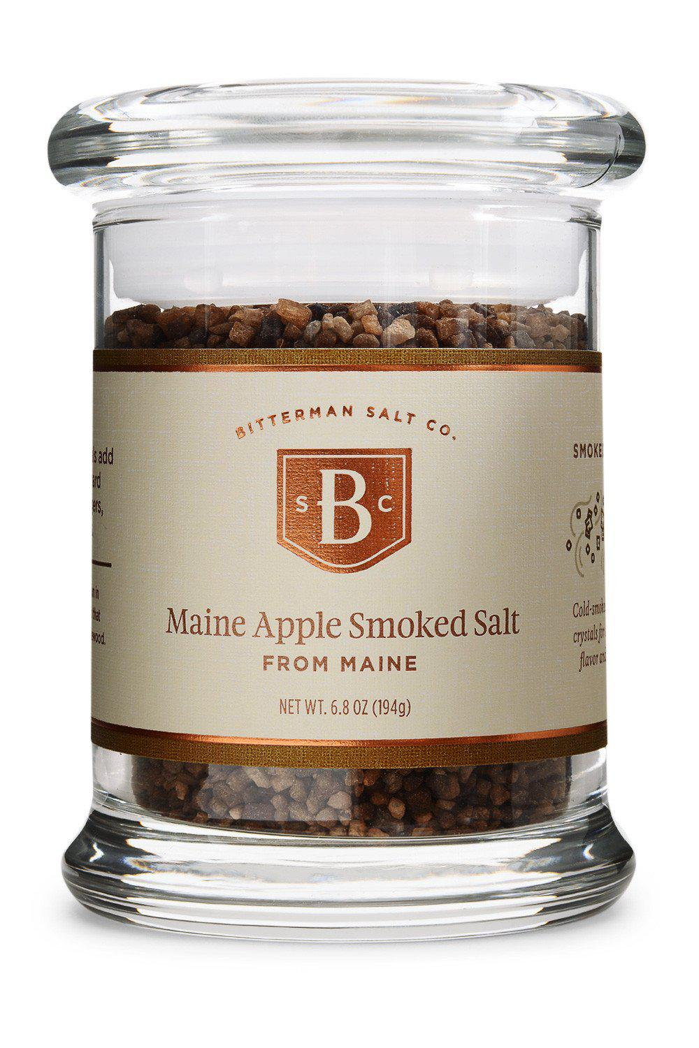 Maine Apple Smoked Sea Salt-Gourmet Salt-The Meadow