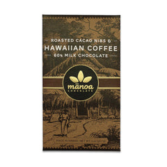 Manoa Coffee 60% Milk Chocolate