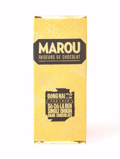 Marou Mini Dong Nai 72% Dark Chocolate