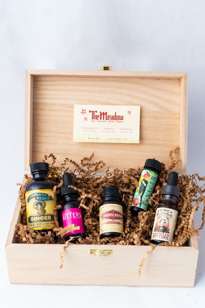 Gift Box of Cocktail Incredibleness-Bitters, Syrups and Shrubs-The Meadow