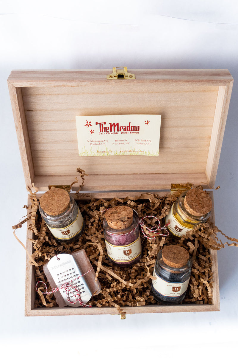 Gift Box of Seasoning Sensations-Gourmet Salt-The Meadow