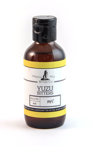 Miracle Mile Yuzu Bitters-Bitters, Syrups and Shrubs-The Meadow