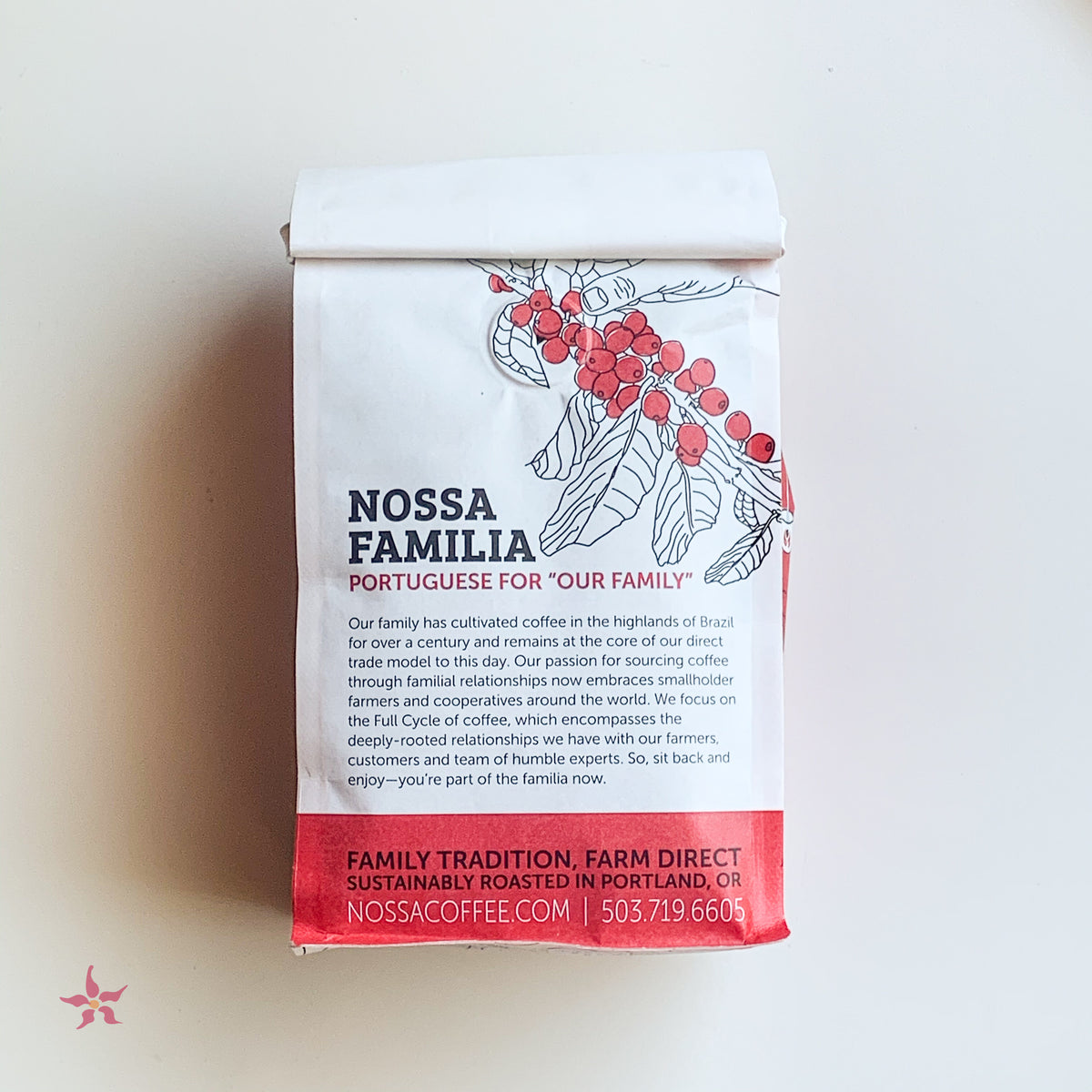 Nossa Familia Brazil Decaf - Coffee from Portland, Oregon