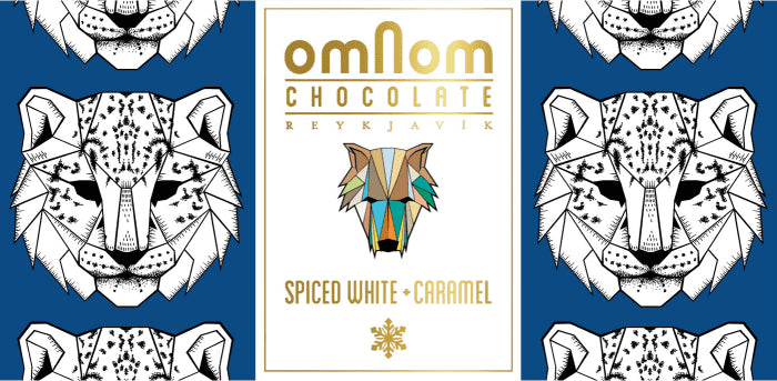 Omnom White Chocolate with Spices and Caramel-Chocolate-The Meadow