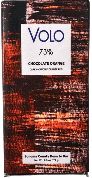 Volo 73% Dark Chocolate with Orange-Chocolate-The Meadow