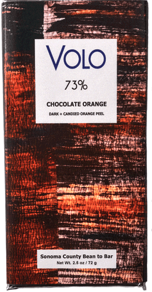 Volo 73% Dark Chocolate with Orange