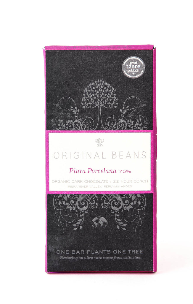 Original Beans Porcelana 75% Dark Chocolate