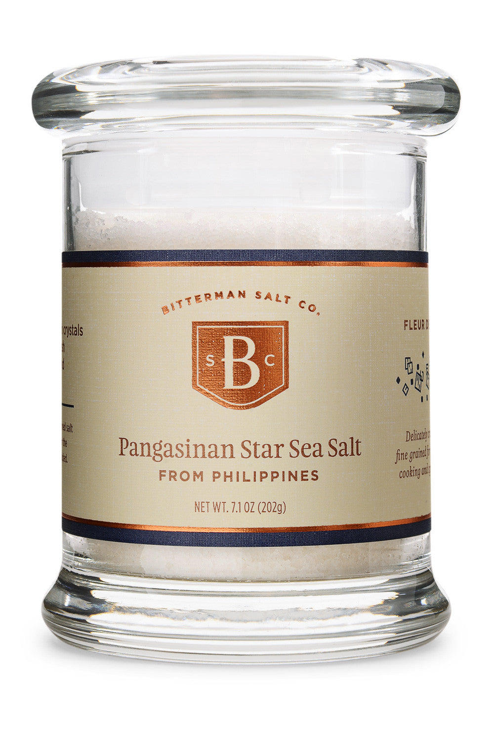 Pangasinan Star Fleur de Sel (Ilocano Asin)-Gourmet Salt-The Meadow