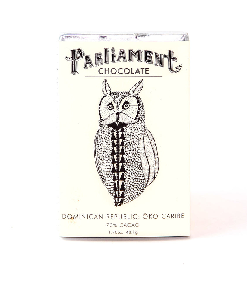 Parliament Chocolate Dominican Öko Caribe 70% Dark