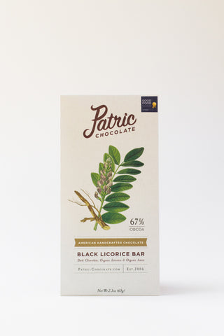 Patric Chocolate Black Licorice Bar