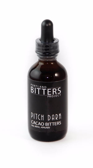 Portland Bitters Project Pitch Dark Cacao Bitters-Bitters, Syrups and Shrubs-The Meadow