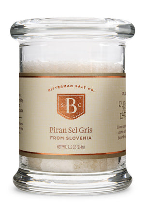 Piran Sel Gris - Slovenian Grey Salt-Gourmet Salt-The Meadow