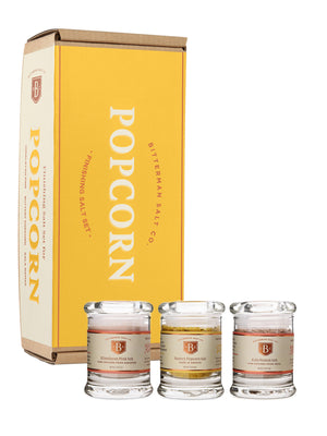Popcorn Salt Set-Gourmet Salt-The Meadow