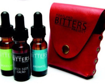 Portland Bitters Project Adventure Pack with Leather Case