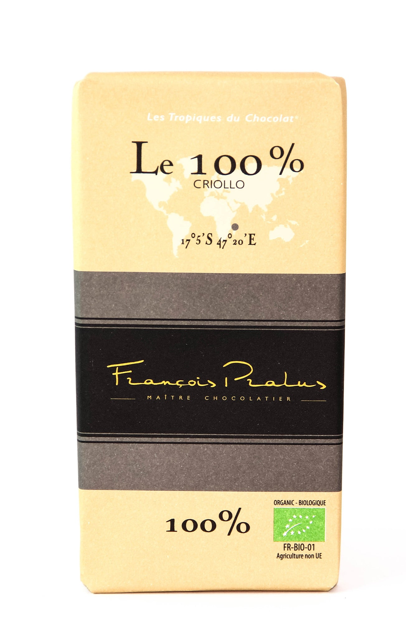 Pralus Le 100% Dark Chocolate-Chocolate-The Meadow