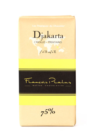 Pralus Djakarta 75% Dark Chocolate-Chocolate-The Meadow