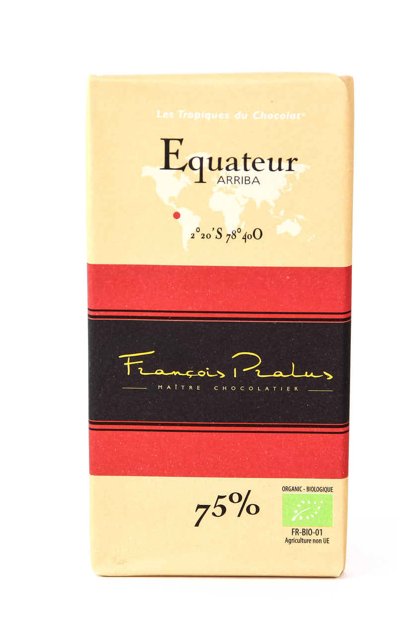 Pralus Equateur 75% Dark Chocolate-Chocolate-The Meadow