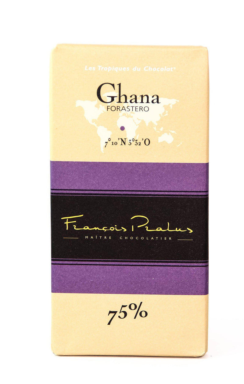 Pralus Ghana 75% Dark Chocolate-Chocolate-The Meadow