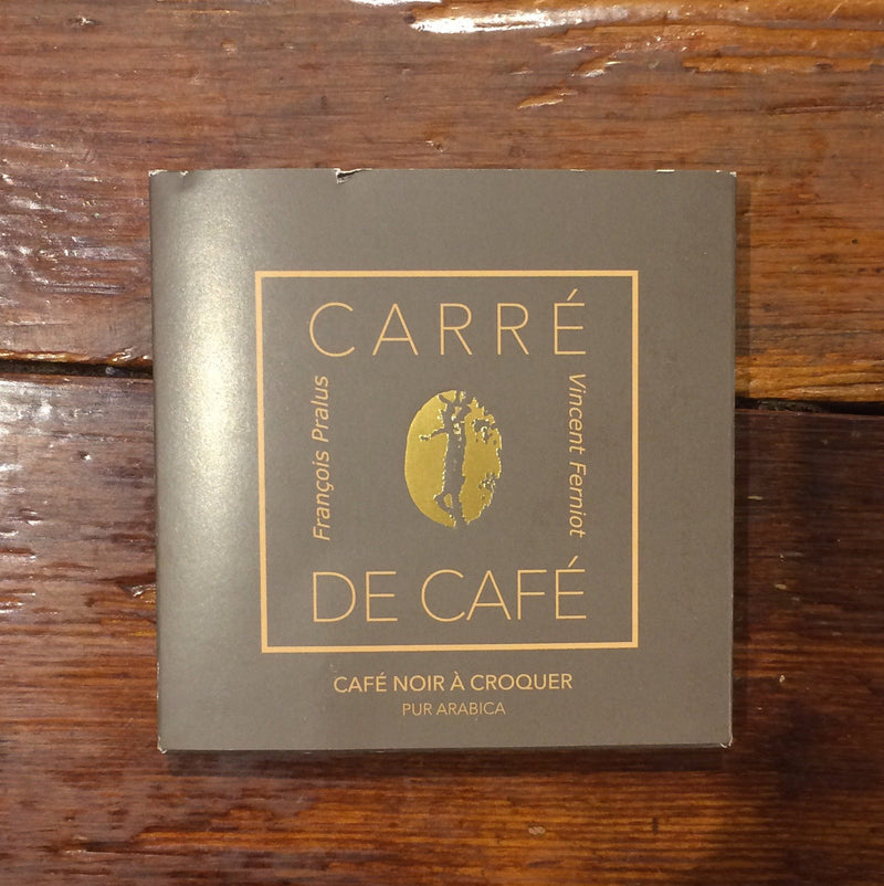 Pralus Carre de Caf� Dark Chocolate with Coffee-Chocolate-The Meadow