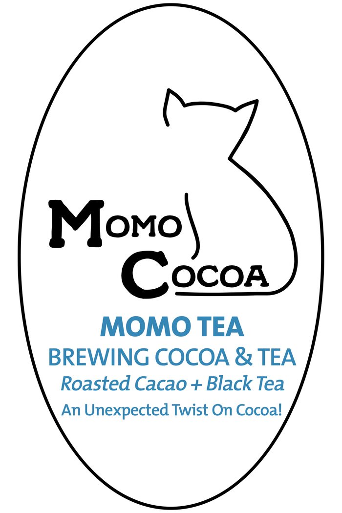 Momo Cocoa Brewing Cocoa with Tea