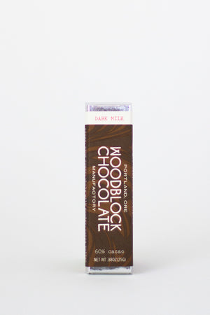Woodblock Dark Milk Chocolate-Chocolate-The Meadow