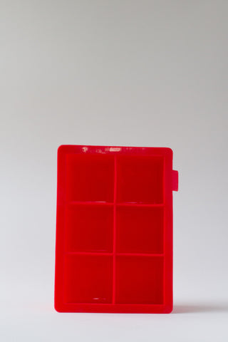 Red Ice Tray