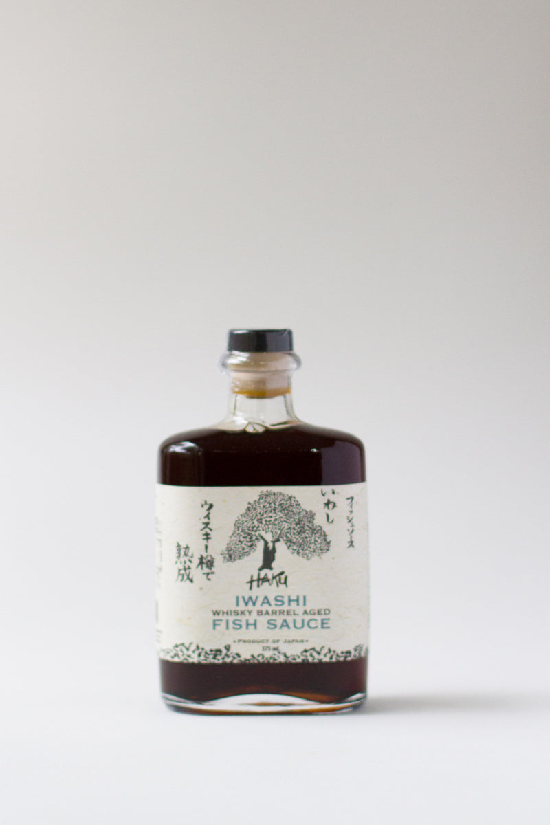 Haku Iwashi Whisky Barrel Aged Fish Sauce