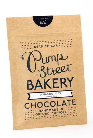 Pump Street Ecuador 100% Dark Chocolate-Chocolate-The Meadow