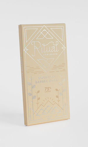 Ritual Bourbon Barrel Aged 75% Dark Chocolate