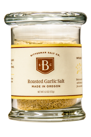 Roasted Garlic Salt-Gourmet Salt-The Meadow