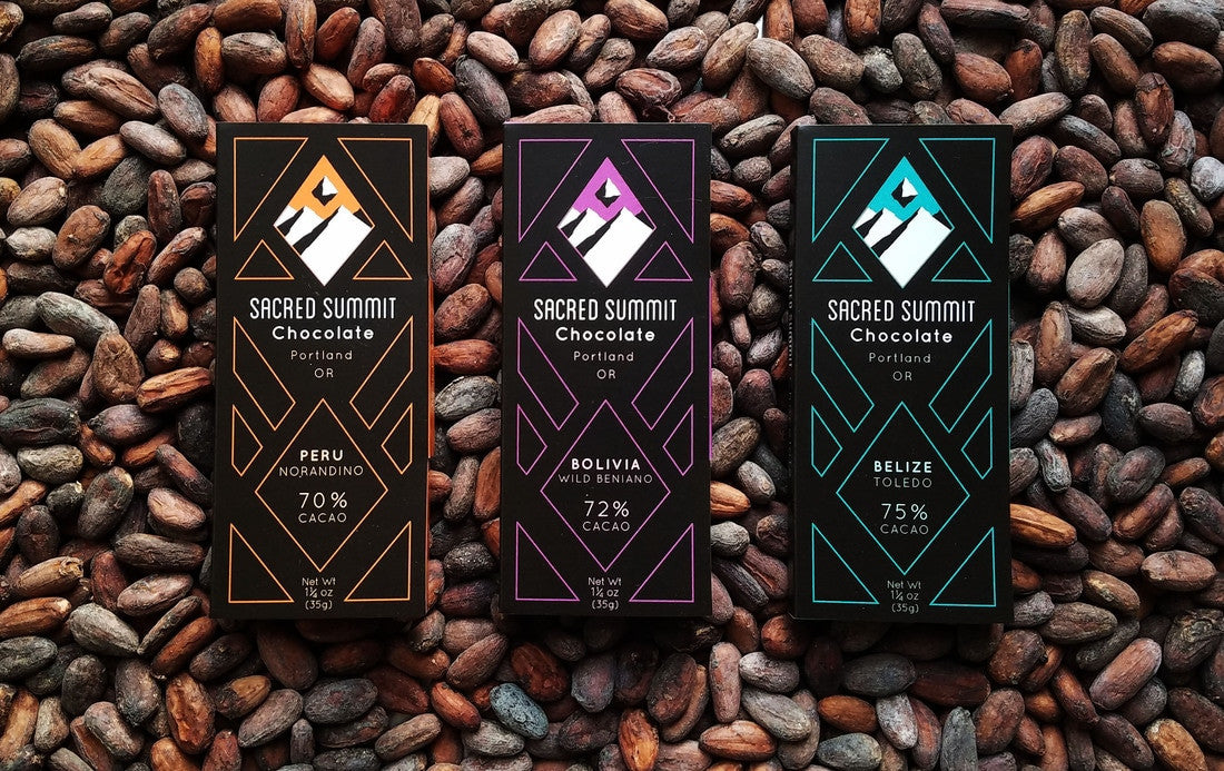 Sacred Summit Belize 70% Dark Chocolate-Chocolate-The Meadow