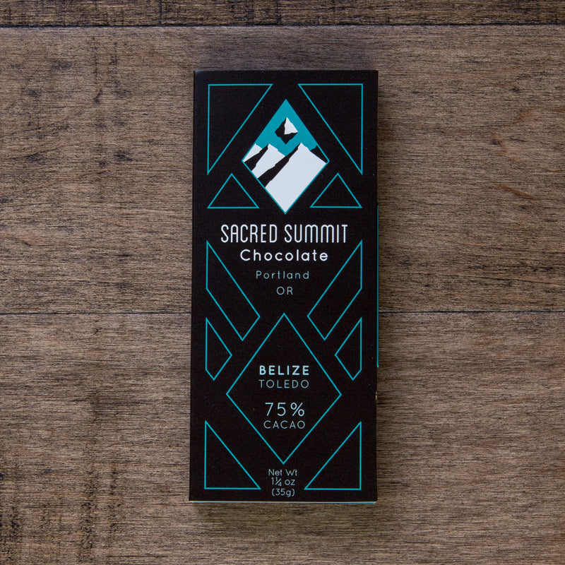 Sacred Summit Belize 70% Dark Chocolate