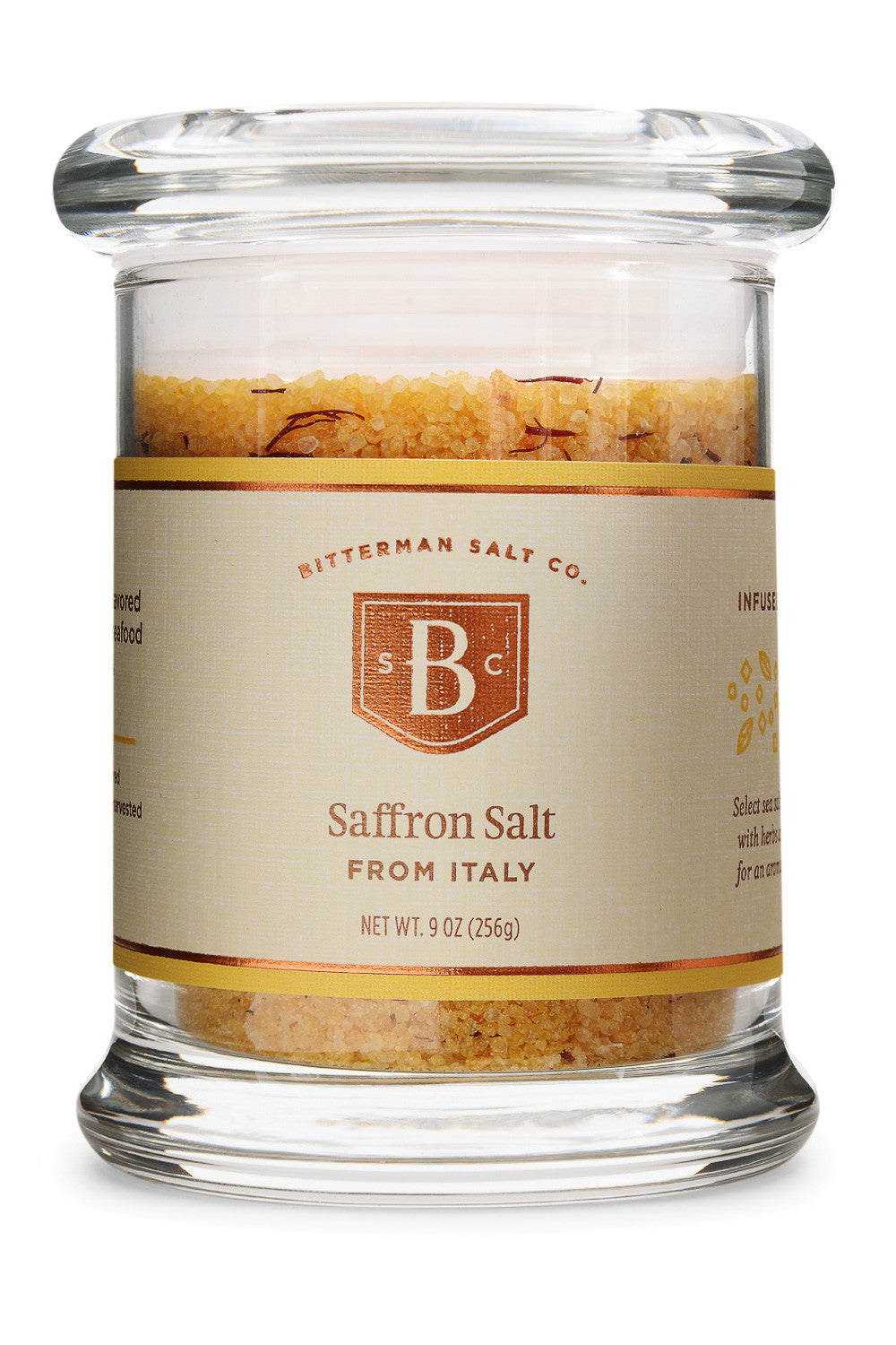 Saffron Salt-Gourmet Salt-The Meadow