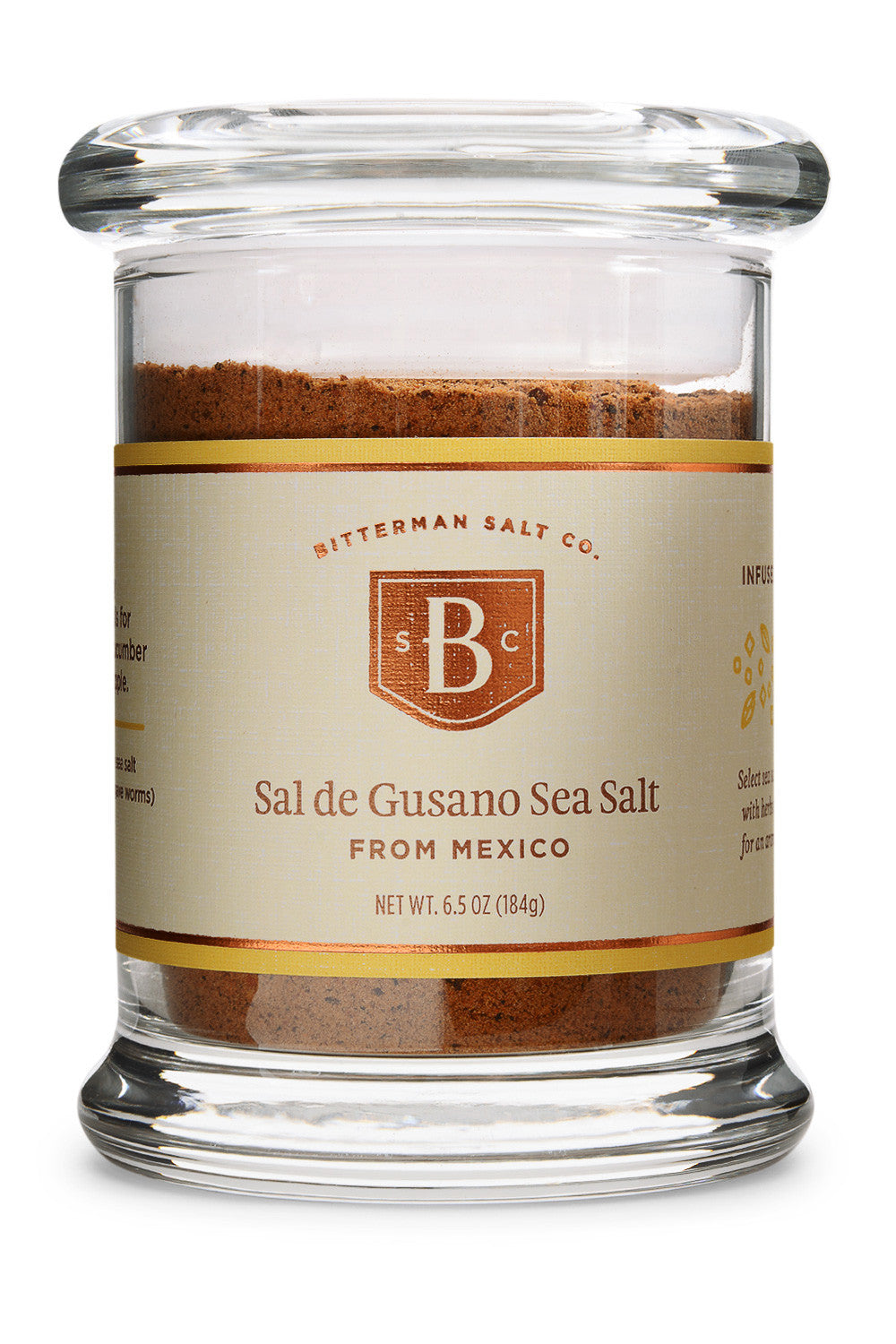 Sal de Gusano Spicy Worm Salt-Gourmet Salt-The Meadow