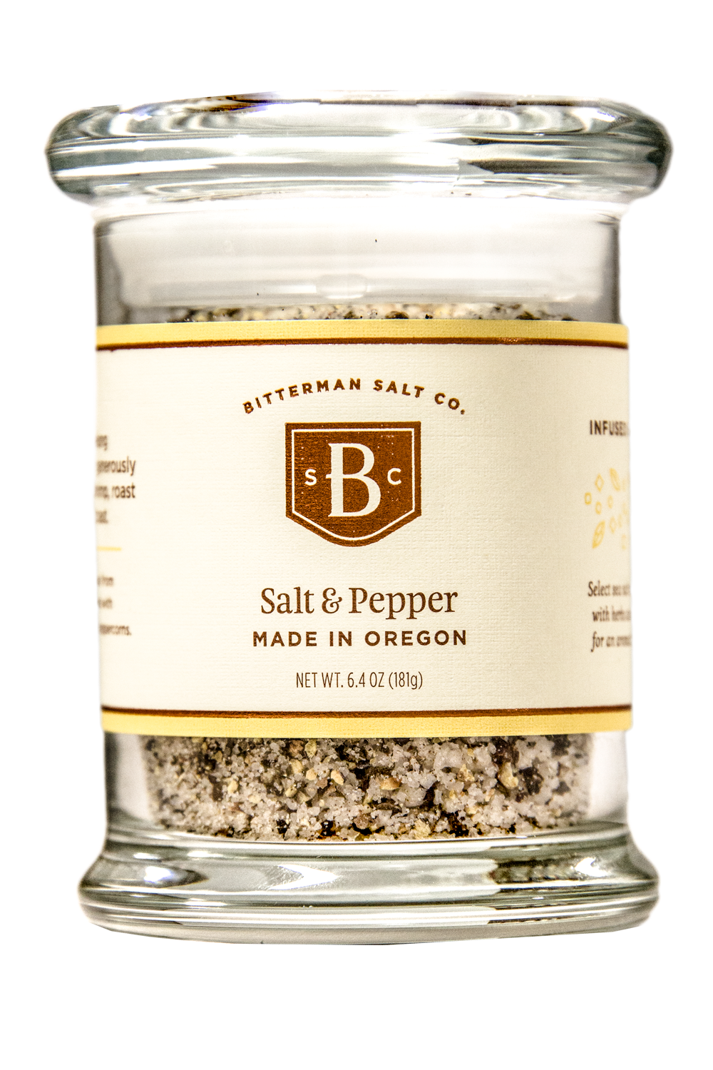 Bitterman's Salt & Pepper Salt-Gourmet Salt-The Meadow