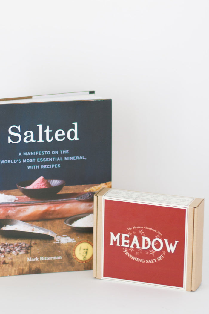 The Meadow Salt Set + Salted: A Manifesto
