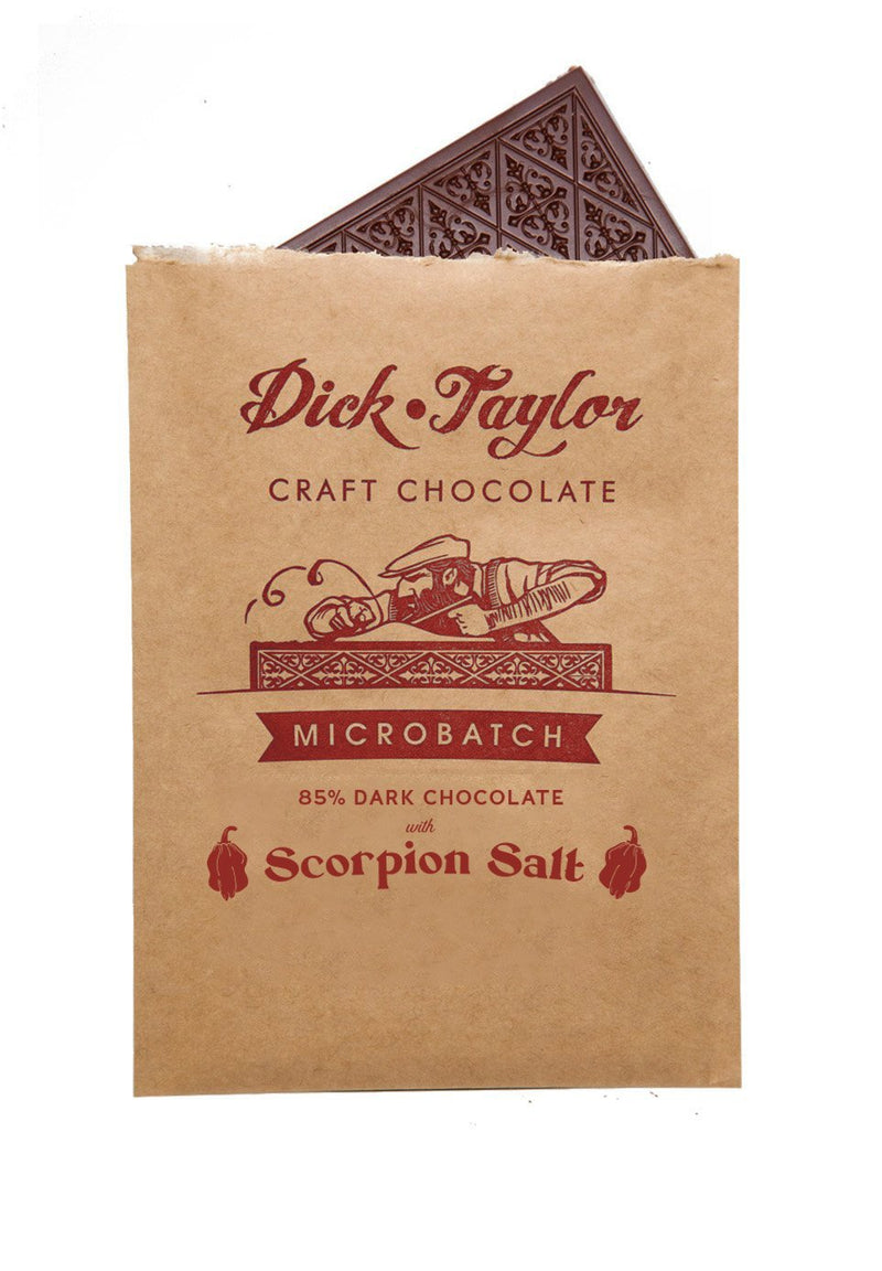 Dick Taylor Microbatch Dark Chocolate with Scorpion Salt