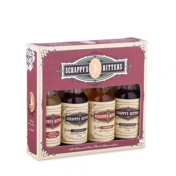 "Scrappy's ""New Essentials"" Bitters Set"