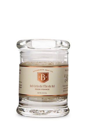 Sel Gris de l'Île de Ré - French Sea Salt-Gourmet Salt-The Meadow