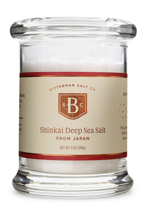 Shinkai Deep Sea Japanese Sea Salt-Gourmet Salt-The Meadow