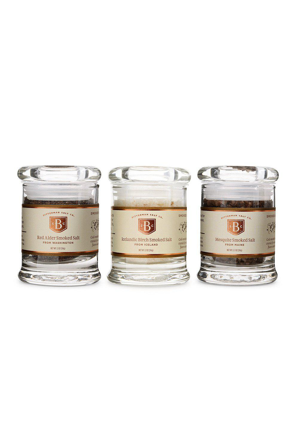 Smoked Salt Set-Gourmet Salt-The Meadow