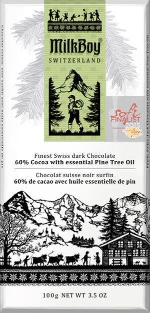 MilkBoy Pine Tree Oil 60% Swiss Dark Chocolate