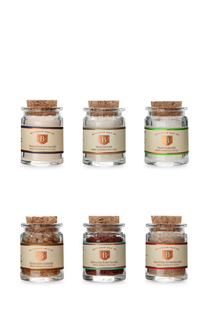 Meadow Salt Set in Gift Basket-Gourmet Salt-The Meadow