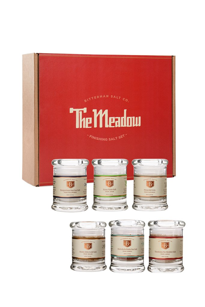 The Meadow Salt Set + Craft Salt Cooking