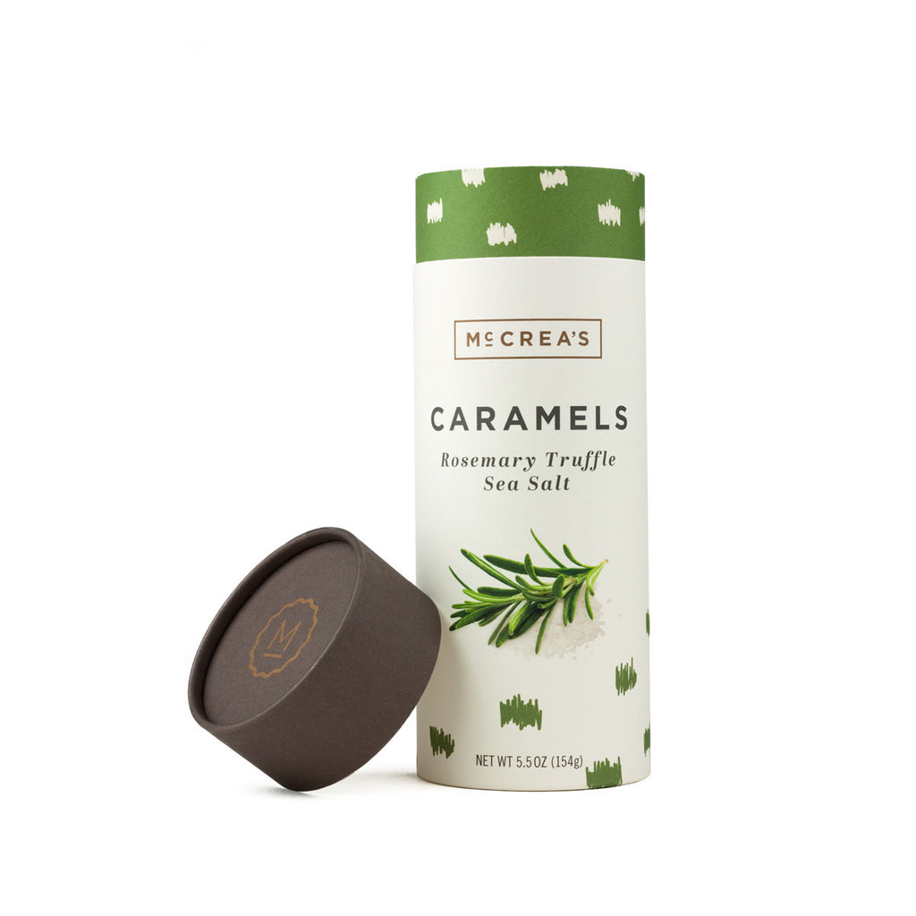 McCrea's Rosemary Truffle Sea Salt Caramels - Tube