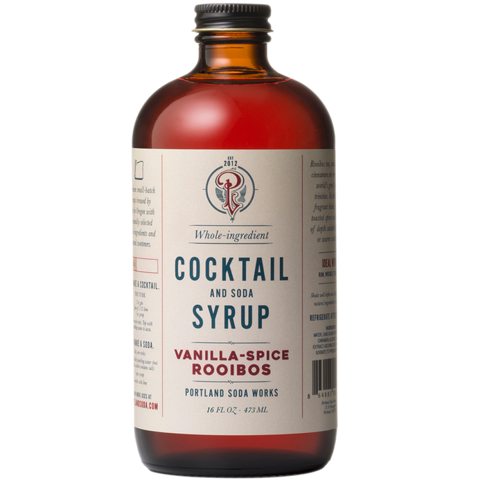 Portland Soda Works Vanilla Rooibos Cocktail Syrup